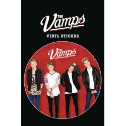 Pegatina de vinilo The Vamps Red