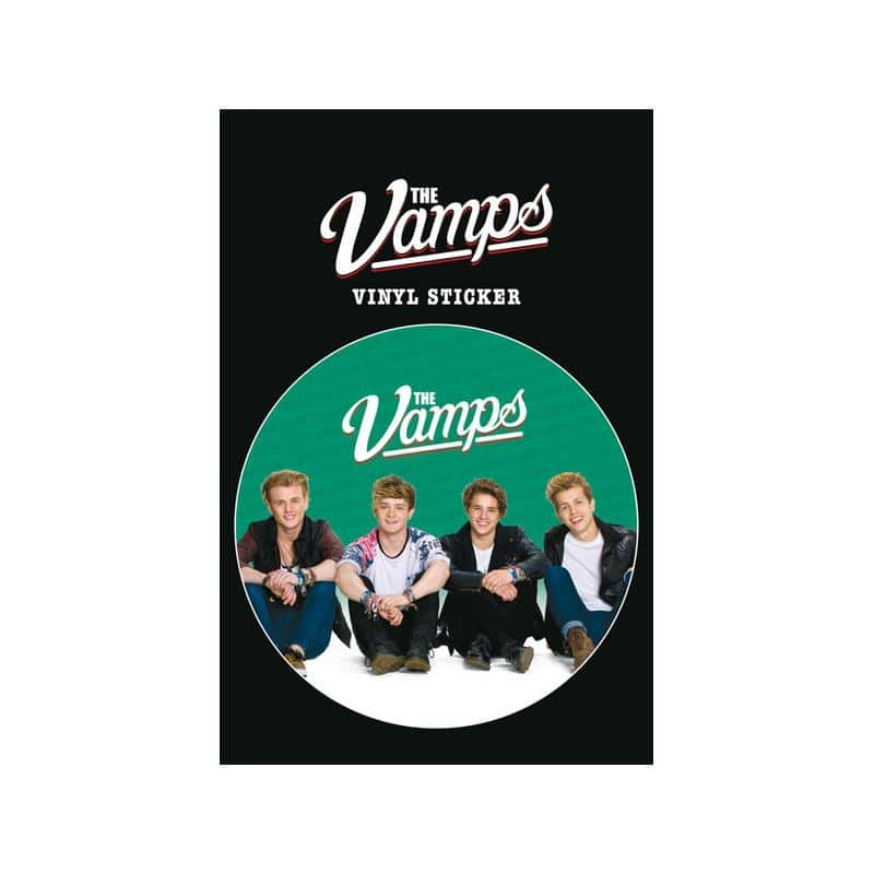 Pegatina de vinilo the vamps sit for Pegatinas de vinilo