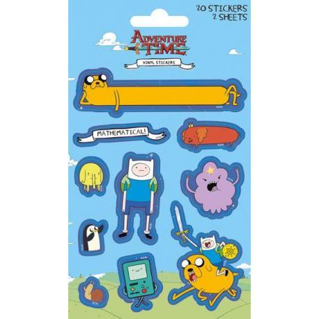 Pack de pegatinas Hora de aventura Characters (Vinyl)