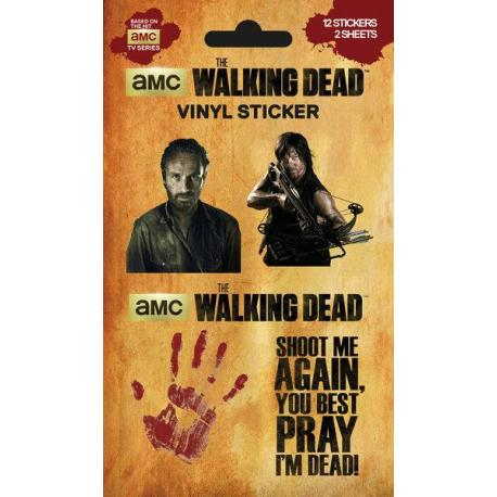 Pack de pegatinas The Walking Dead Mix (Vinyl)
