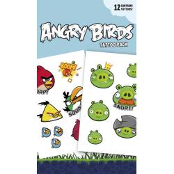 Pack de tatuajes Angry Birds Characters