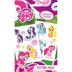 Pack de tatuajes My Little Pony Names