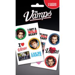 Pack de tatuajes The Vamps Mix