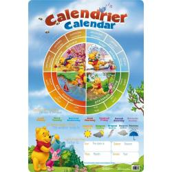 Planches Éducatives Calendrier Winnie The Pooh