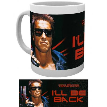 Taza The Terminator I'll Be Back With Image