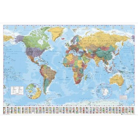 Poster Gigante World Map 2012