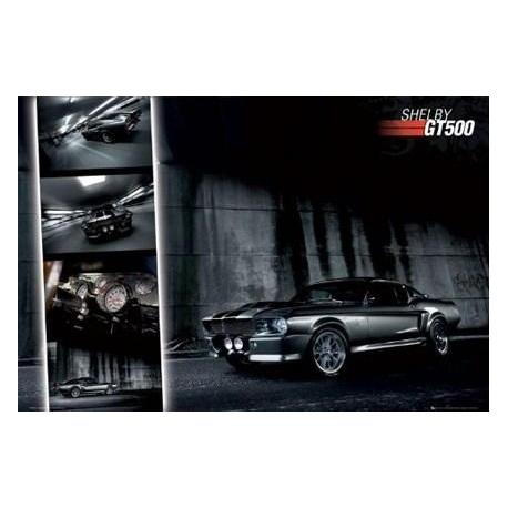 Poster Ford Shelby Mustang Gt500