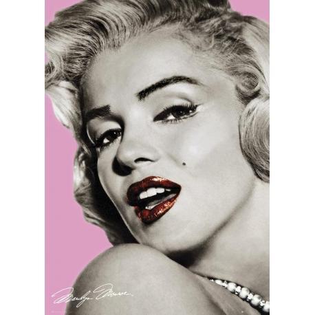 Poster Gigante Marilyn Monroe Pink Lips
