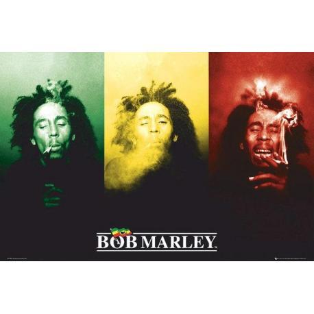 Poster Gigante Bob Marley Flag
