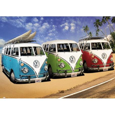 Poster Gigante VW Camper Campers Beach
