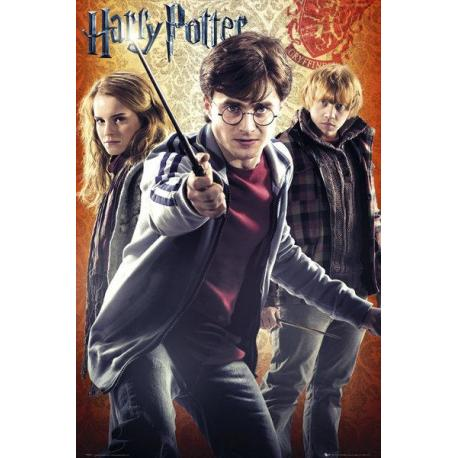 Maxi Poster Harry Potter 7 Trio