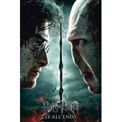 Maxi Poster Harry Potter 7 Part 2 Teaser