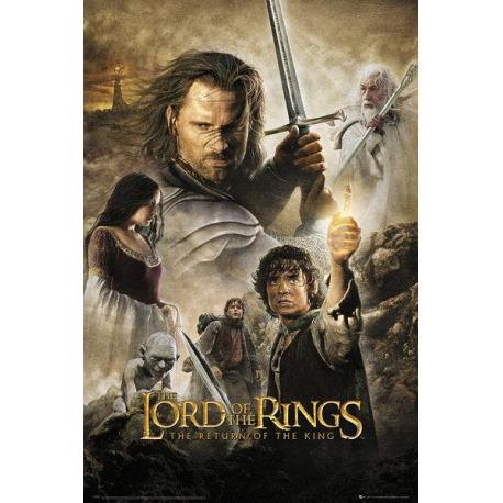 Maxi Poster Lord Of The Rings Return Of The King One Sheet