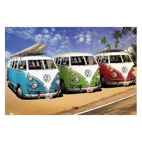 Poster Volkswagen Californian Campers