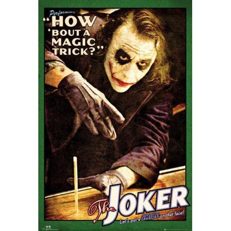 Maxi Poster Batman (The Dark Knight) Joker Magic Trick