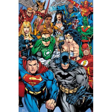 Maxi Poster DC Comics Collage