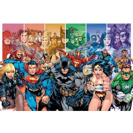 Maxi Poster DC Comics Justice League Characters