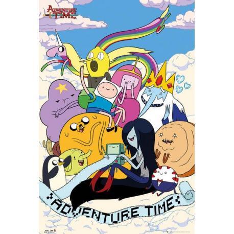 Maxi Poster Hora de aventura Clouds