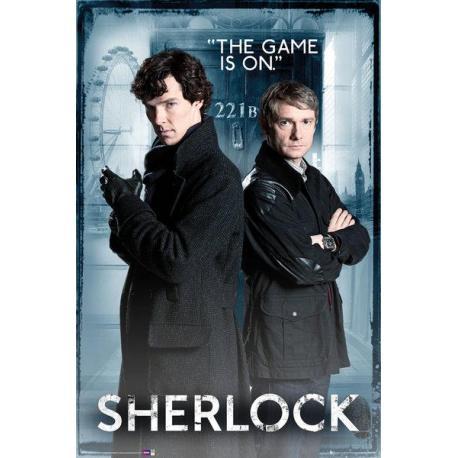 Maxi Poster Sherlock Door