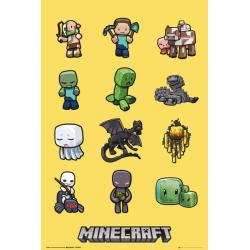 Maxi Poster Minecraft Characters