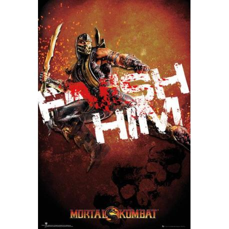 Maxi Poster Mortal Kombat Finish Him