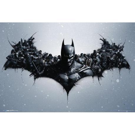Maxi Poster Batman Origins Arkham Bats