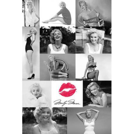 Maxi Poster Marilyn Monroe Tiles