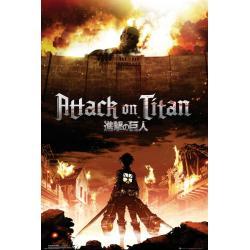 Maxi Poster Attack on Titan Key Art