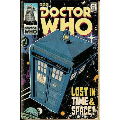 Maxi Poster Doctor Who Tardis Comic