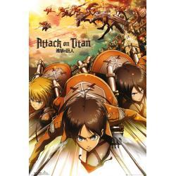 Maxi Poster Attack on Titan Attack
