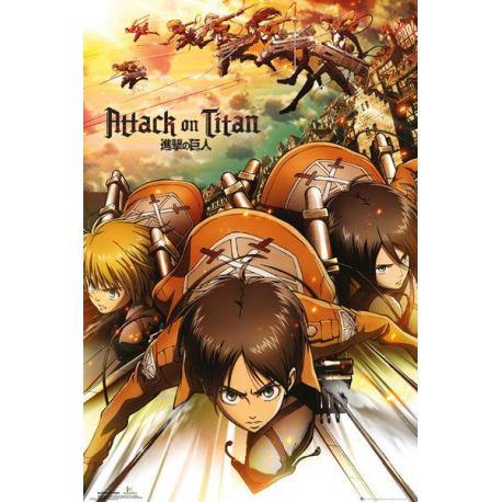 Maxi Poster Attack on Titan Attack