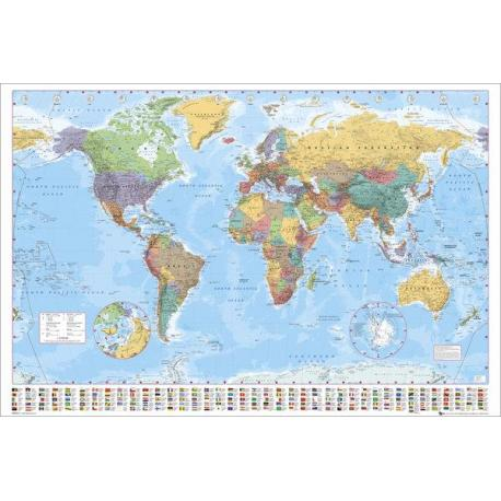 Maxi Poster World Map 2012