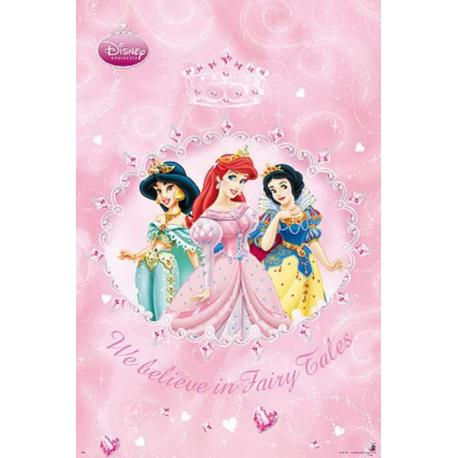 Poster Disney Princesas Diamantes