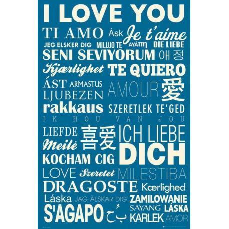 Maxi Poster I Love You