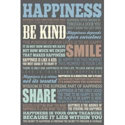 Maxi Poster Happiness Quotes
