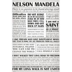 Maxi Poster Nelson Mandela Quotes