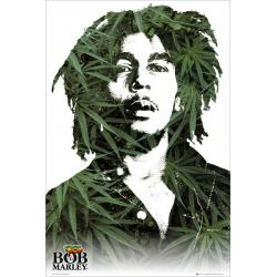 Poster BOB MARLEY leaves (Maxi 61 x 91.5cm)