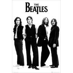 Maxi Poster The Beatles White