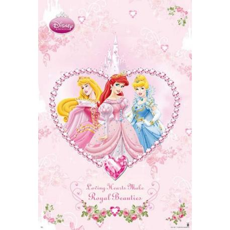 Poster Princesas Diamantes