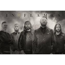 Maxi Poster In Flames Band