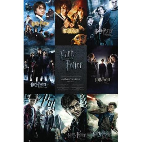 Poster Coleccion Harry Potter