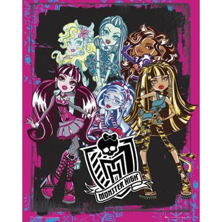 Mini poster Monster High Grupo