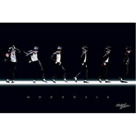 Poster Michael Jackson Moonwalk