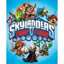 Mini Poster Skylanders Trap Team Trap Team