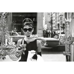 Poster Audrey Hepburn Ventana desde Tiffanys