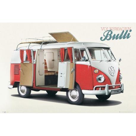 Maxi Poster VW Camper Bulli
