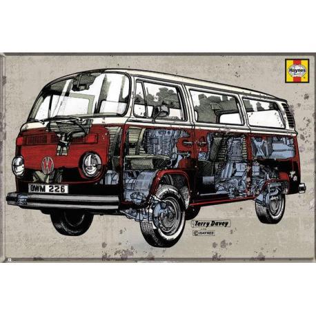 Maxi Poster VW Camper Haynes Campervan