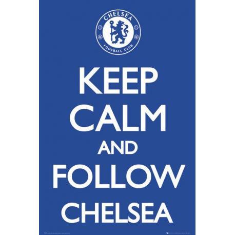 Maxi Poster Chelsea Keep Calm