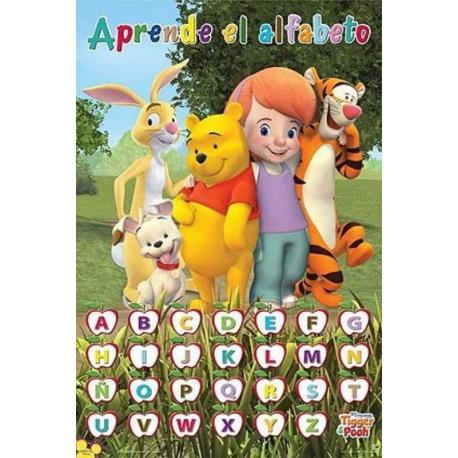 Poster Educativo Aprende El Alfabeto