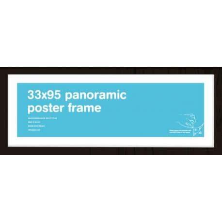 Marco Prints Panoramicos Negro 33x95cm